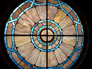 Window, Christian Scientist church, Salem, Oregon